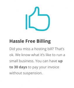 no hassle billing