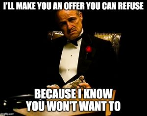 Godfather: an offer you can refuse