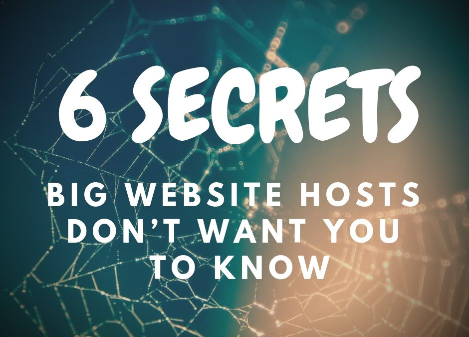 Why Unlimited Hosting Is A Lie & 5 Other Secrets Web Hosts Don't Want You To Know